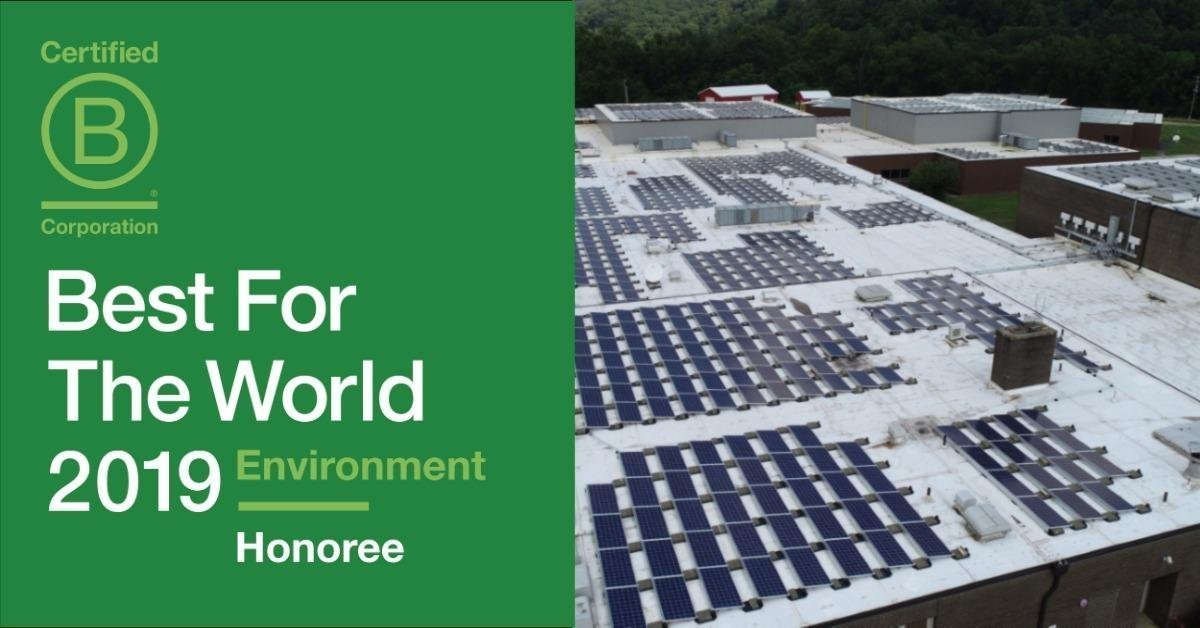 """New Resource Solutions Listed as a """"Best for the World: Environment"""" Honoree"""
